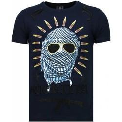 Kleidung Herren T-Shirts Local Fanatic Freedom Fighter Strass Blau