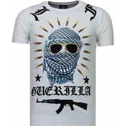 Kleidung Herren T-Shirts Local Fanatic Freedom Fighter Strass Weiß
