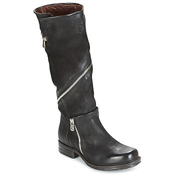 Schuhe Damen Klassische Stiefel Airstep / A.S.98 SAINT EC ZIP Schwarz