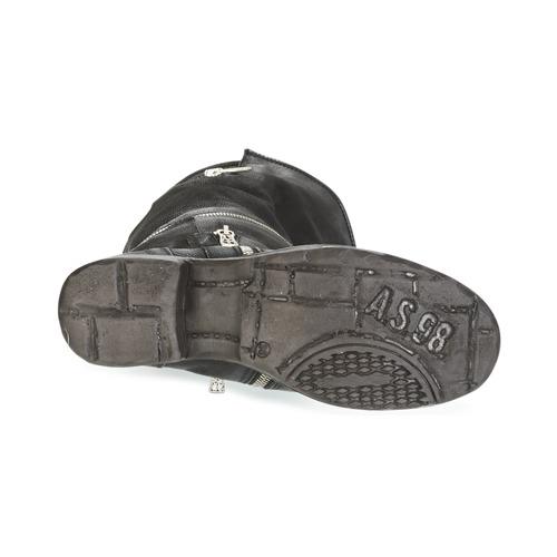 Airstep / Klassische A.S.98 SAINT EC ZIP Schwarz  Schuhe Klassische / Stiefel Damen 299 09e034