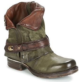 Schuhe Damen Boots Airstep / A.S.98 SAINT BIKE Kaki