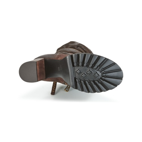 Airstep / A.S.98 BLOC ZIP Braun  Schuhe Low Boots Damen 259
