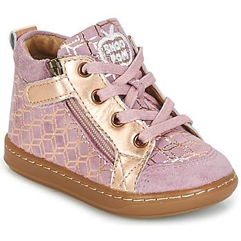 Schuhe Mädchen Sneaker High Shoo Pom BOUBA BI ZIP Rose / Kupfer