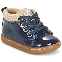 Schuhe Mädchen Boots Shoo Pom BOUBA WOOL Marine / Beige