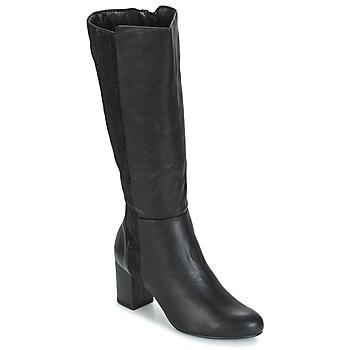 Schuhe Damen Klassische Stiefel Moony Mood GINA Schwarz