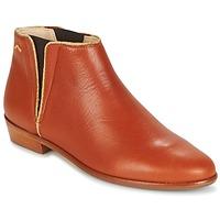 Schuhe Damen Boots M. Moustache JEANNE.B Cognac / Gold