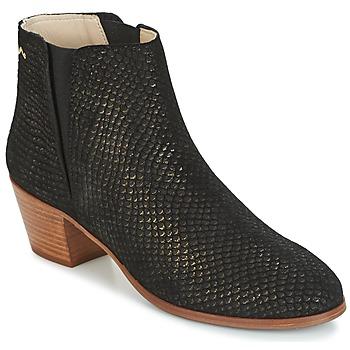 Schuhe Damen Low Boots M. Moustache JEANNE.M Schwarz