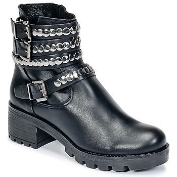 Schuhe Damen Low Boots Lola Espeleta NECK Schwarz