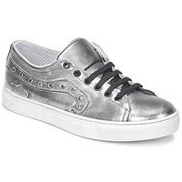 Schuhe Damen Sneaker Low Lola Espeleta NOEME Silbern