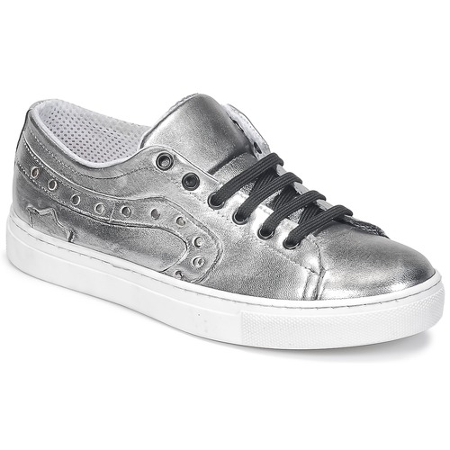 Lola Espeleta NOEME Silbern Schuhe Sneaker Low Damen 44,50