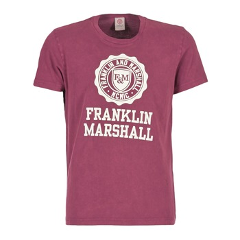 Kleidung Herren T-Shirts Franklin & Marshall GRAVI Bordeaux
