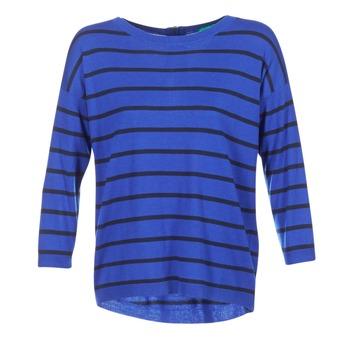 Kleidung Damen Pullover Benetton MIDIC Blau