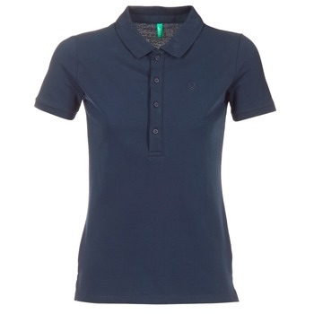 Kleidung Damen Polohemden Benetton MAJOU Marine