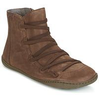 Schuhe Damen Boots Camper PEU CAMI Braun