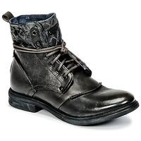 Schuhe Herren Boots Bunker BONO Grau