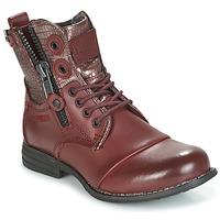 Schuhe Damen Boots Bunker SARA Bordeaux