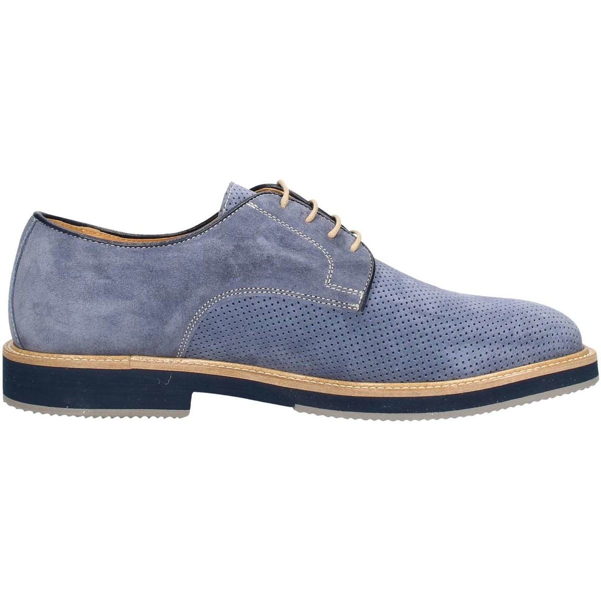 Hudson 901 Lace up shoes Mann Blau Blau - Schuhe Derby-Schuhe Herren 97,00 €