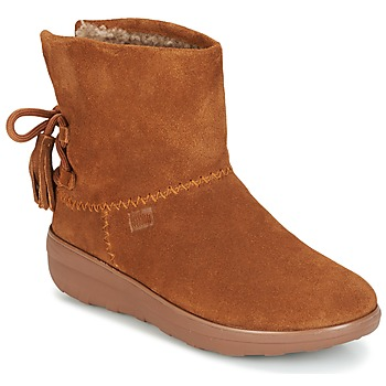 Schuhe Damen Low Boots FitFlop MUKLUK SHORTY II BOOTS  WITH TASSELS Chestnut