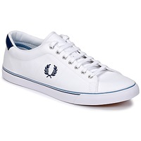 Schuhe Herren Sneaker Low Fred Perry UNDERSPIN CANVAS Weiss