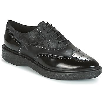 Schuhe Damen Derby-Schuhe Geox D PRESTYN Schwarz