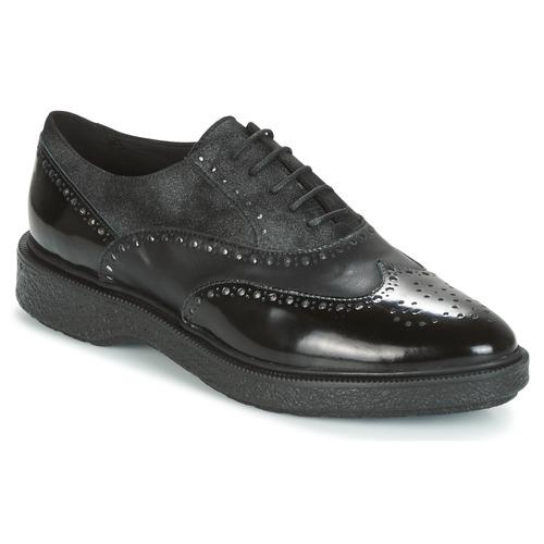 Geox D PRESTYN Schwarz  Schuhe Derby-Schuhe Damen 79,99