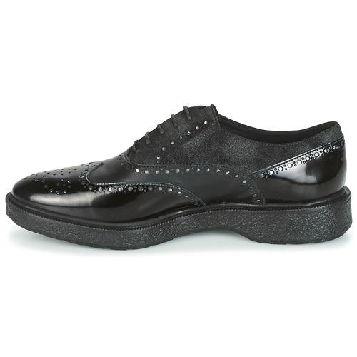 Geox D PRESTYN Derby-Schuhe Schwarz  Schuhe Derby-Schuhe PRESTYN Damen 70 d5f753