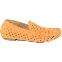 Schuhe Herren Slipper Kebello Mokassin X78005 orange
