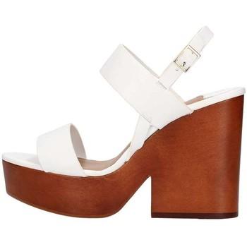 Schuhe Damen Sandalen / Sandaletten The Seller S5412 weiß