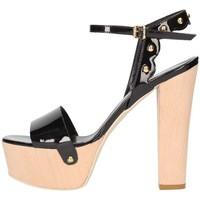 Schuhe Damen Sandalen / Sandaletten Emporio Di Parma 820 schwarz