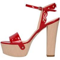 Schuhe Damen Sandalen / Sandaletten Emporio Di Parma 820 rot