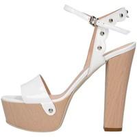 Schuhe Damen Sandalen / Sandaletten Emporio Di Parma 820 weiß