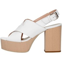 Schuhe Damen Sandalen / Sandaletten Emporio Di Parma 826 weiß