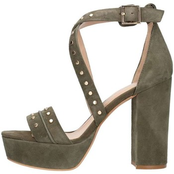 Schuhe Damen Sandalen / Sandaletten Bruno Premi K2602p Sandelholz Frau grün grün