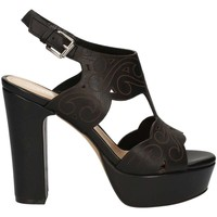 Schuhe Damen Sandalen / Sandaletten Bruno Premi K2501N High heeled sandals Frauen Black Black