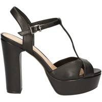 Schuhe Damen Sandalen / Sandaletten Bruno Premi K2504N High heeled sandals Frauen Black Black