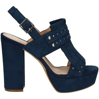 Schuhe Damen Sandalen / Sandaletten Bruno Premi K2603N High heeled sandals Frauen Blue Blue