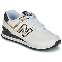 Schuhe Damen Sneaker Low New Balance WL574 Weiss