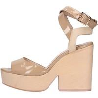 Schuhe Damen Sandalen / Sandaletten The Seller S5411 nackt