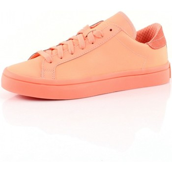 Schuhe Damen Sneaker Low adidas Originals COURT VANTAGE Corail
