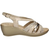 Schuhe Damen Sandalen / Sandaletten Grace Shoes EL713 Sandals Frauen Beige