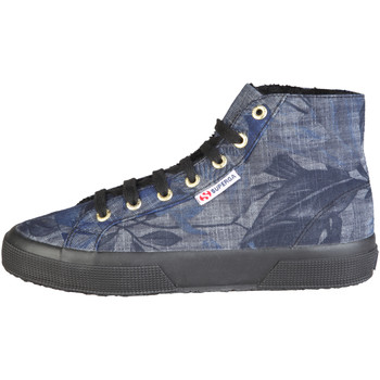 Schuhe Sneaker High Superga Sneakers blau