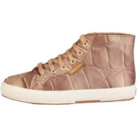 Schuhe Damen Sneaker High Superga Sneakers Braun