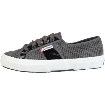 Schuhe Damen Sneaker Low Superga Sneakers grau