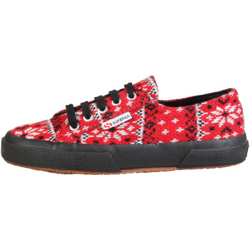 Schuhe Damen Sneaker Low Superga Sneakers rot
