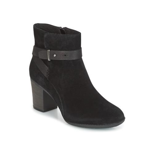 Schuhe Damen Derby-Schuhe Clarks ENFIELD SARI Schwarz
