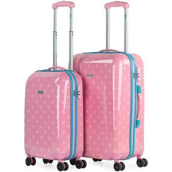 Taschen Hartschalenkoffer Skpat Moles 2 Stück Rosa