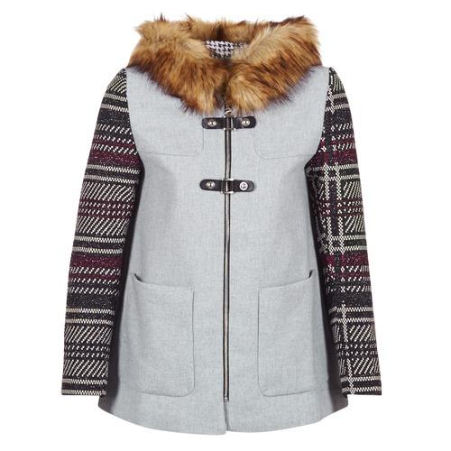 Desigual GERDI Grau - Kostenloser Versand |  - Kleidung Mäntel Damen 15996 oSOhB