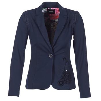 Kleidung Damen Jacken / Blazers Desigual GROFA Marine