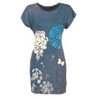 Kleidung Damen Kurze Kleider Desigual MARTI Blau