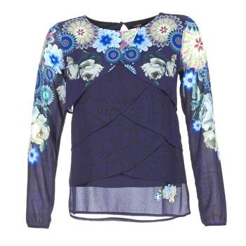 Kleidung Damen Tops / Blusen Desigual TAMA Blau